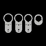 GEMINY DigiSafe Distanzplatte Standard, Typ 10362